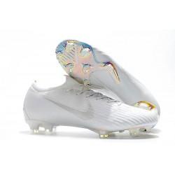 Zapatos de Fútbol Nike Mercurial Vapor 12 Elite FG Blanco