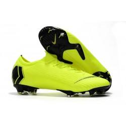 Zapatos de Fútbol Nike Mercurial Vapor 12 Elite FG Voltio Negro