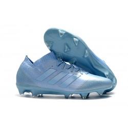 adidas Nemeziz Messi 18.1 FG Botas de Fútbol con Tacos Azul