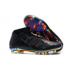 Zapatillas de Fútbol adidas Nemeziz 18 + FG Negro