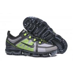 Zapatillas Nike Air VaporMax 2019 Para Hombres Negro Verde Gris