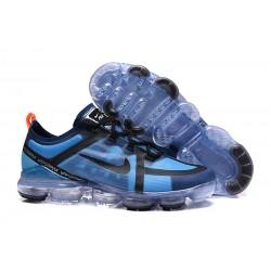 Zapatillas Nike Air VaporMax 2019 Para Hombres Negro Azul