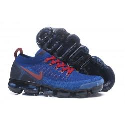 Nike Air VaporMax 2.0 2018 Para Hombres - Azul Rojo