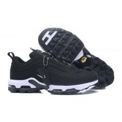 Zapatillas Nike Air Max 97 Plus Hombres - Negro Blanco