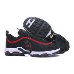 Zapatillas Nike Air Max 97 Plus Hombres - Negro Rojo