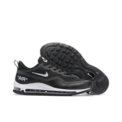 Zapatos Nike Air Max Plus 97 Sequent Negro Blanco