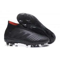 Adidas Predator 18+ FG Botas de Fútbol para Hombre - Negro