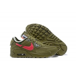 Zapatillas OFF White x Nike Air Max 90 - Verde Rojo