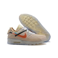 Zapatillas OFF White x Nike Air Max 90 - Desert Ore OW