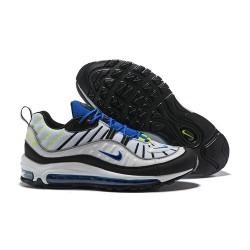Zapatillas Nike Air Max 98 Para Hombres - Negro Blanco Azul