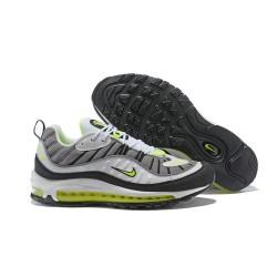 Zapatillas Nike Air Max 98 Para Hombres - Gris Blanco Verde