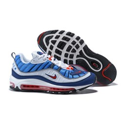 Nike Air Max 98 Zapatos - Azul Blanco
