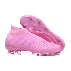 Adidas Predator 18+ FG Botas de Fútbol para Hombre - Rosa