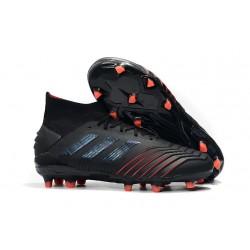 Botas de Fútbol adidas Archetic Predator 19.1 FG Hombre -Negro Rojo