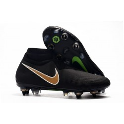 Nike Phantom VSN Elite DF SG-Pro Anti Clog Negro Or