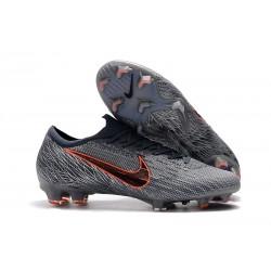 Botas de Fútbol de Hombre Nike Mercurial Vapor 12 Elite FG Gris