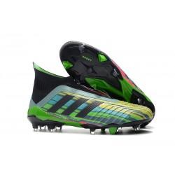 Zapatillas de Fútbol Adidas Predator 18+ FG - Verde Negro