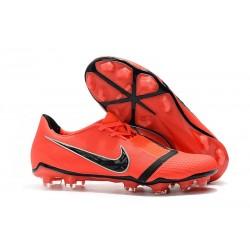 Botas de Fútbol Nike Phantom Venom Elite FG Crimson Negro