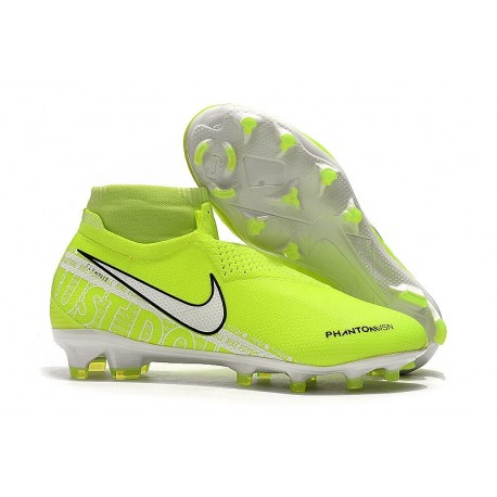 Nike Zapatillas Phantom VSN Elite DF FG - Amarillo Fluorescente Blanco