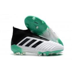 Zapatillas de Fútbol Adidas Predator 18+ FG - Blanco Verde Negro