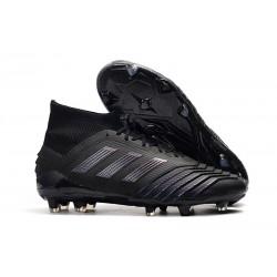 Botas de Fútbol adidas Predator 19.1 FG Hombre - Negro
