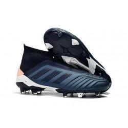 Adidas Zapatos de Fútbol Predator 18+ FG - Azul Negro