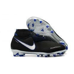 Botas de Fútbol Nike Phantom Vision Elite DF FG Negro Azul