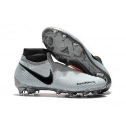 Botas de Fútbol Nike Phantom Vision Elite DF FG Negro Rosso