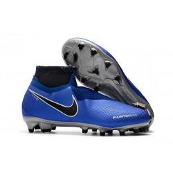 Botas de Fútbol Nike Phantom Vision Elite DF FG Azul Plata