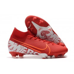 Zapatillas Nike Mercurial Superfly 7 Elite FG Rojo Blanco