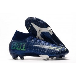 Zapatillas Nike Dream Speed Mercurial Superfly 7 Elite FG Azul Blanco
