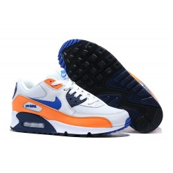 Zapatillas Nike Air Max 90 Naranja Blanco Azul