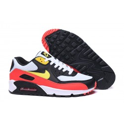 Zapatillas Nike Air Max 90 Negro Rojo Amarillo