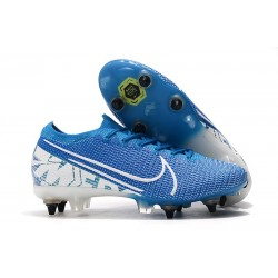 Nike Mercurial Vapor 13 Elite SG-Pro AC New Lights Azul Blanco