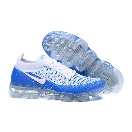 Zapatillas Nike Air Vapormax Flyknit 2 Azul Blanco