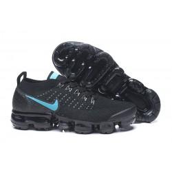 Zapatillas Nike Air Vapormax Flyknit 2 Negro Azul