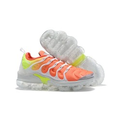 Zapatillas - Nike Air VaporMax Plus Naranja Amarillo