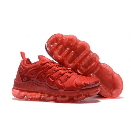 Zapatillas - Nike Air VaporMax Plus Rojo
