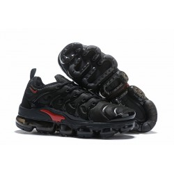 Zapatillas - Nike Air VaporMax Plus Negro Rojo