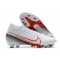 Nike Zapatillas Mercurial Superfly 7 Elite AG-Pro Blanco Rojo