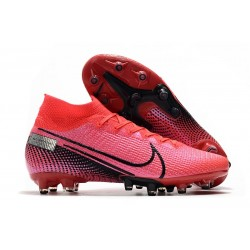 Nike Zapatillas Mercurial Superfly 7 Elite AG-Pro Láser Crimson Negro