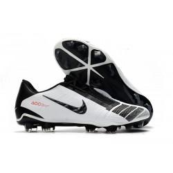 Nike Zapatillas de Futbol Phantom Venom Elite FG Negro Blanco Rojo