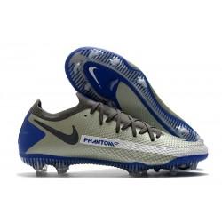Tacos de Futbol Nike Phantom GT Elite FG - Azul Gris Negro