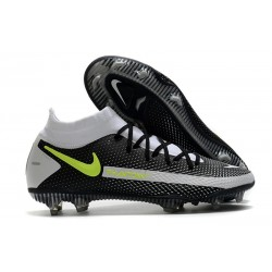 Nike Zapatilla Phantom GT Elite Dynamic Fit FG Negro Gris Amarillo