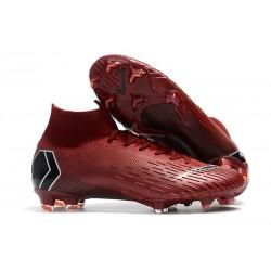 Zapatos de Fútbol Nike Mercurial Superfly VI Elite FG Rojo
