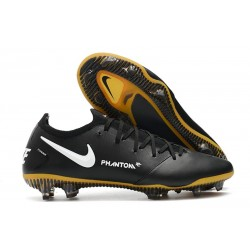 Nike 2021 Phantom GT Elite Tech Craft FG Negro Oro Blanco