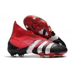 adidas Predator Mutator 20+ FG Zapatillas Negro Blanco Rojo