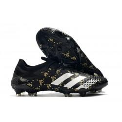 Botas adidas Predator Mutator 20.1 Low FG Paul Pogba Negro Gris