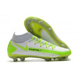 Nike para Hombre para Fútbol Phantom Gt Elite Df Fg Blanco Verde