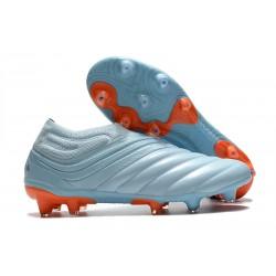 Botas de Futbol adidas Copa 20+ FG Cielo Tinta Azul Royal Signal Coral